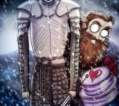Andrew Tarusov - Game of Thrones - Tim Burton