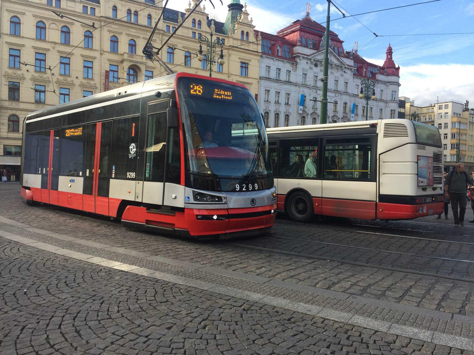 Prag toplu taşıma